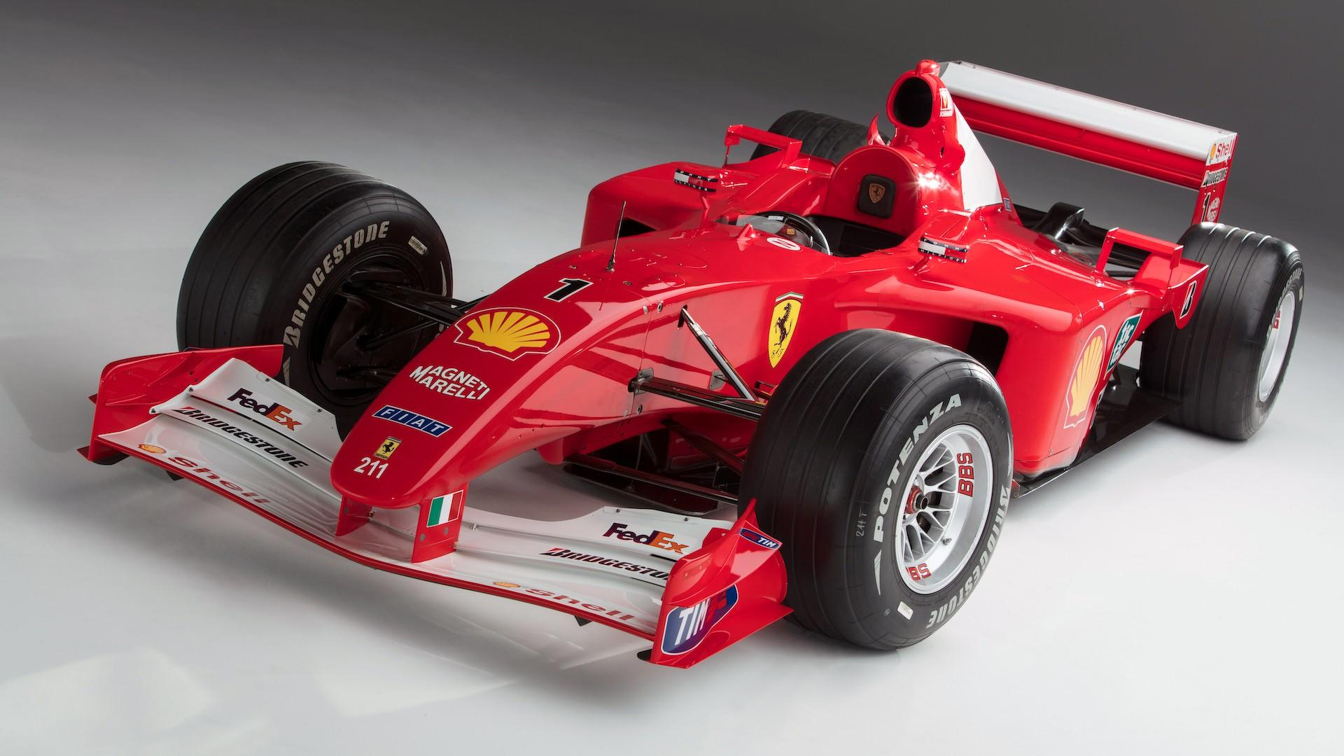 Photo of Πωλείται η Ferrari F2001 του Michael Schumacher