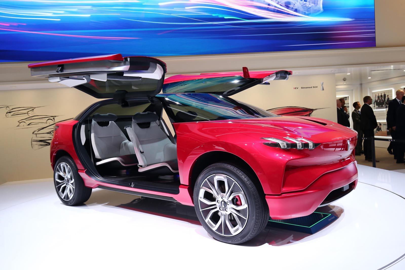 Photo of Wey XEV: Ένα κινέζικο concept με σχεδίαση Tesla
