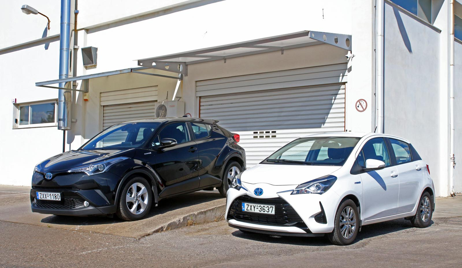 Photo of Toyota Yaris 1.5 Hybrid vs Toyota C-HR 1.8 HSD [test drive]