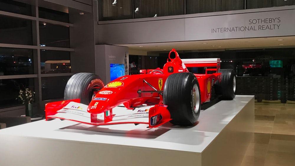 Photo of Στα 7,5 εκ. δολάρια έπεσε το σφυρί για την F2001 του Michael Schumacher!