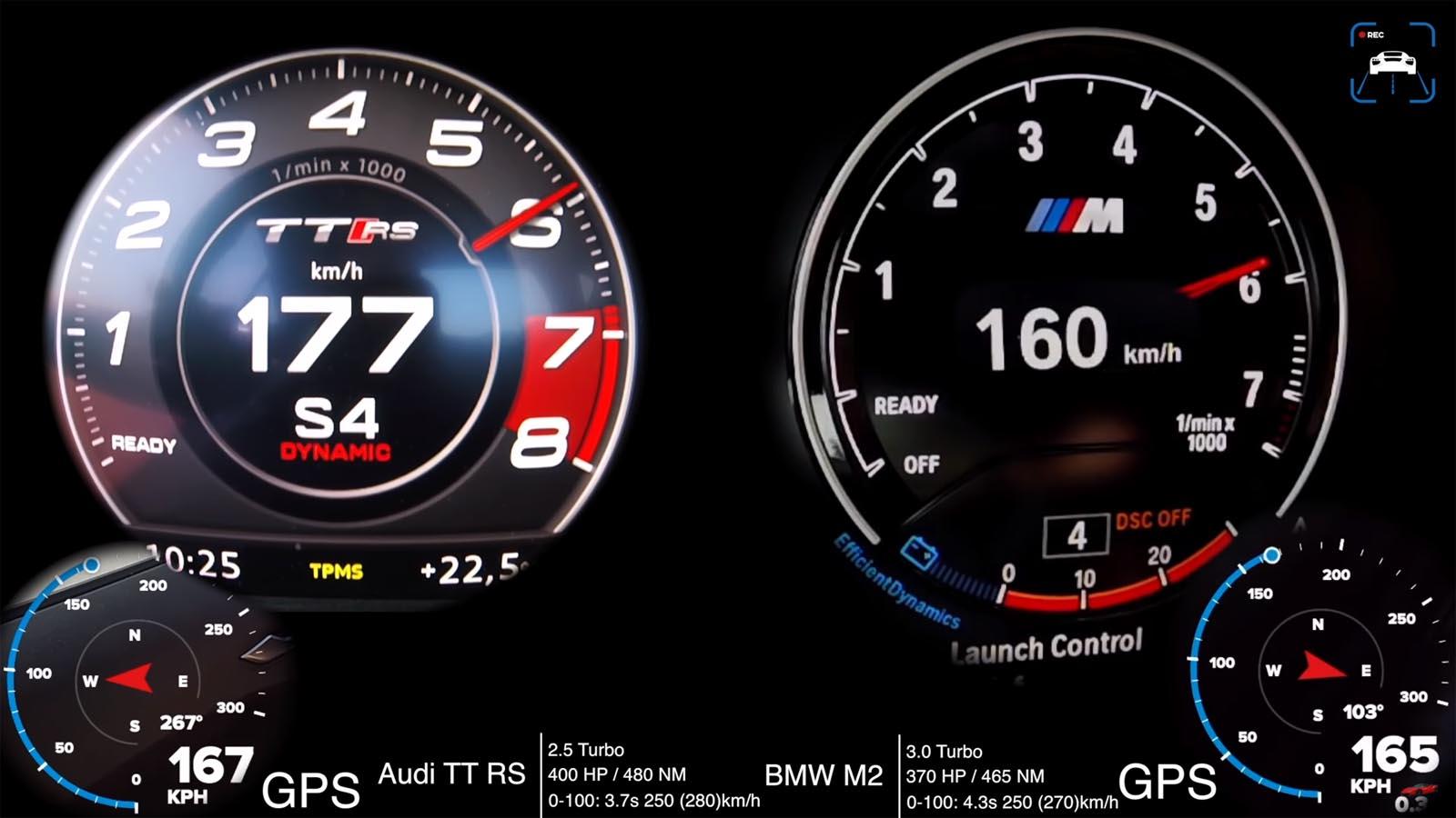 Photo of Audi TT RS vs BMW M2: Ποιο είναι το πιο γρήγορο;