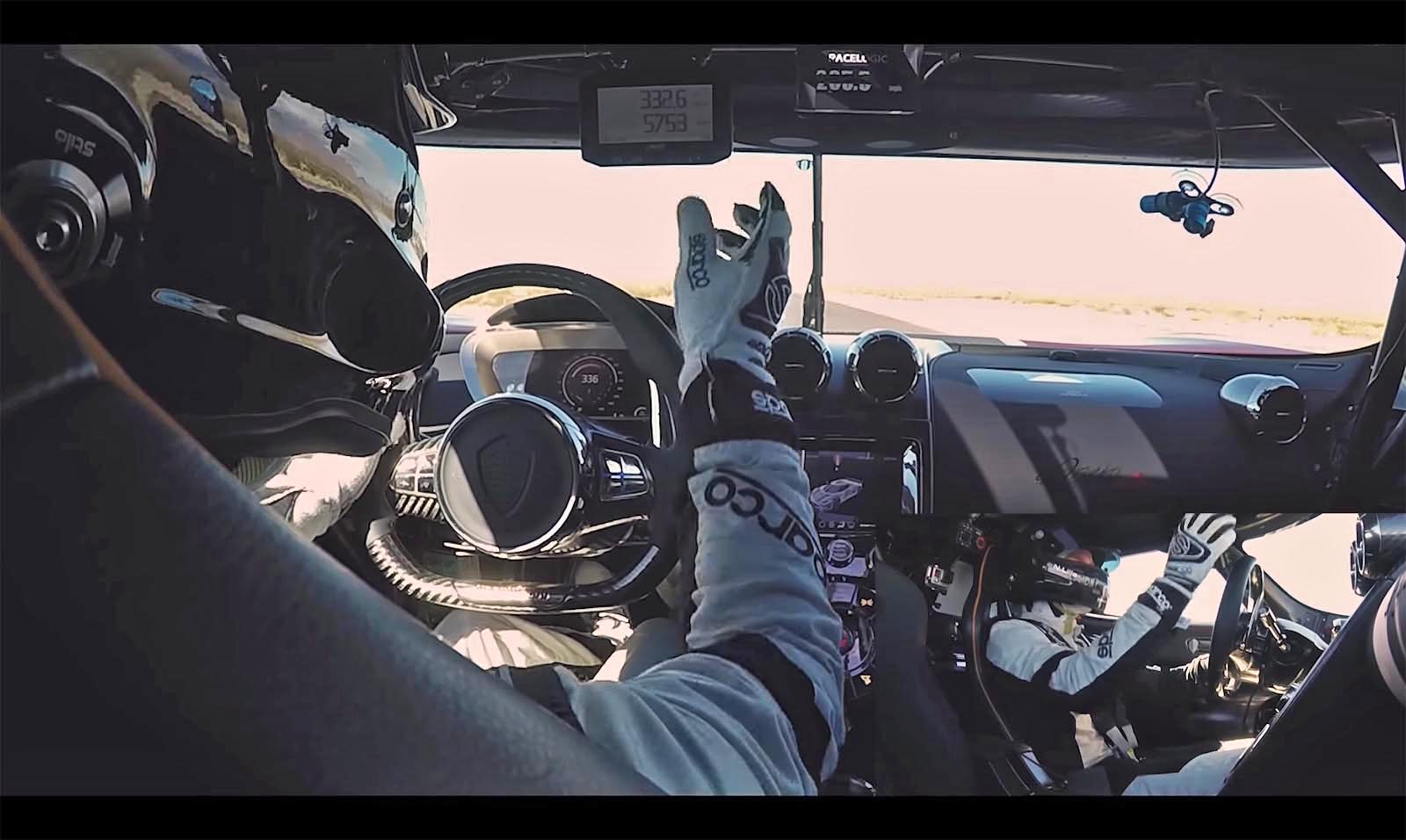 Photo of Δείτε το απίστευτο ρεκόρ ταχύτητας της Koenigsegg από την θέση του οδηγού [vid]