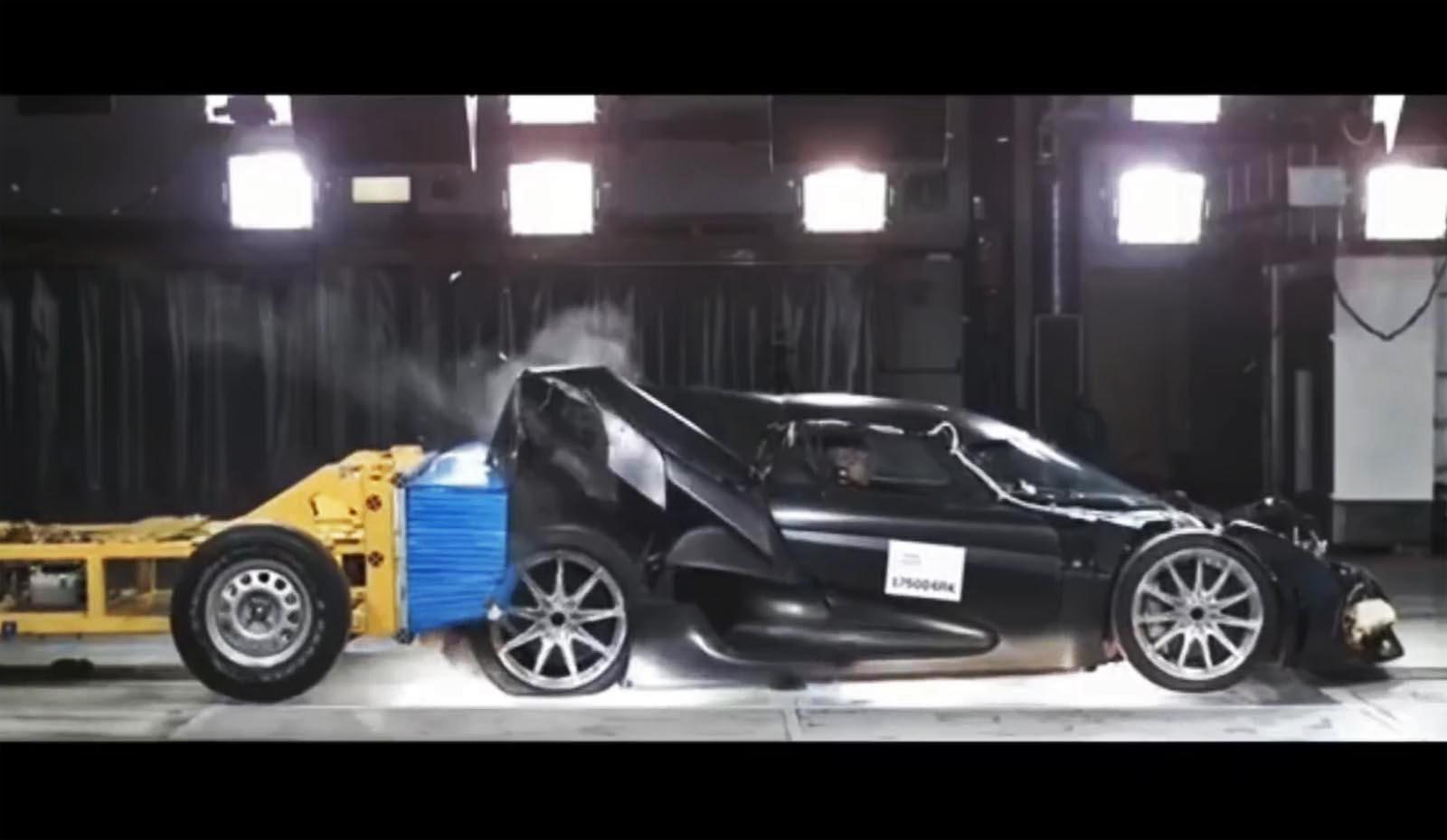 Photo of Θεαματικό το crash-test του Koenigsegg Regera [vid]