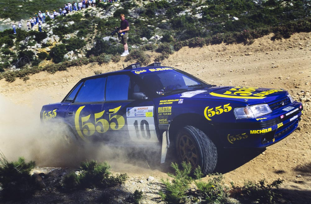 Photo of Πωλείται το Subaru Legacy RS του Ari Vatanen