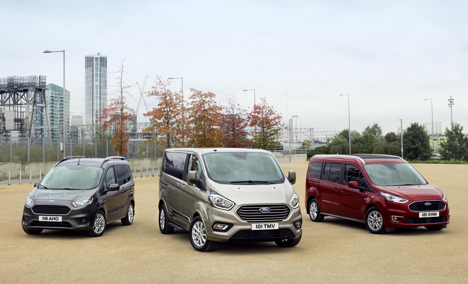 Photo of Ντεμπούτο για τη νέα σειρά μεταφοράς προσωπικού Ford Tourneo