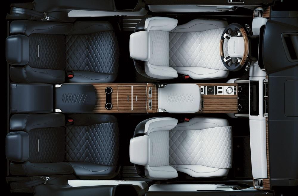 Photo of Teaser από το εσωτερικό του Range Rover SV Coupe