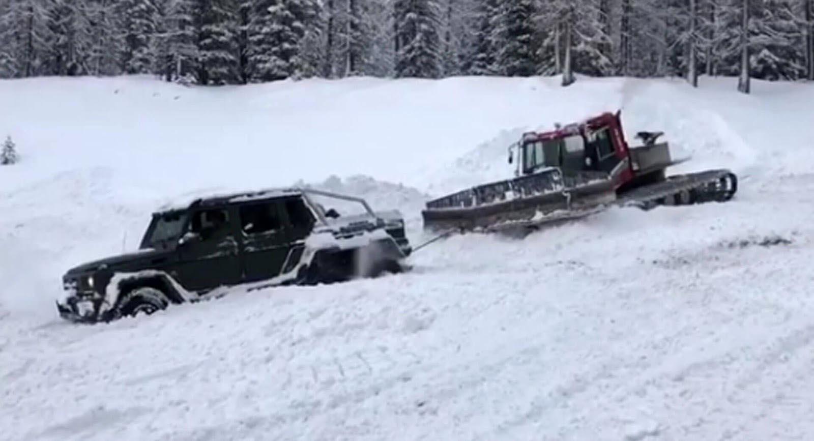 Photo of Είναι δυνατόν μια Mercedes G63 6×6 να κολλήσει στο χιόνι; [vid]