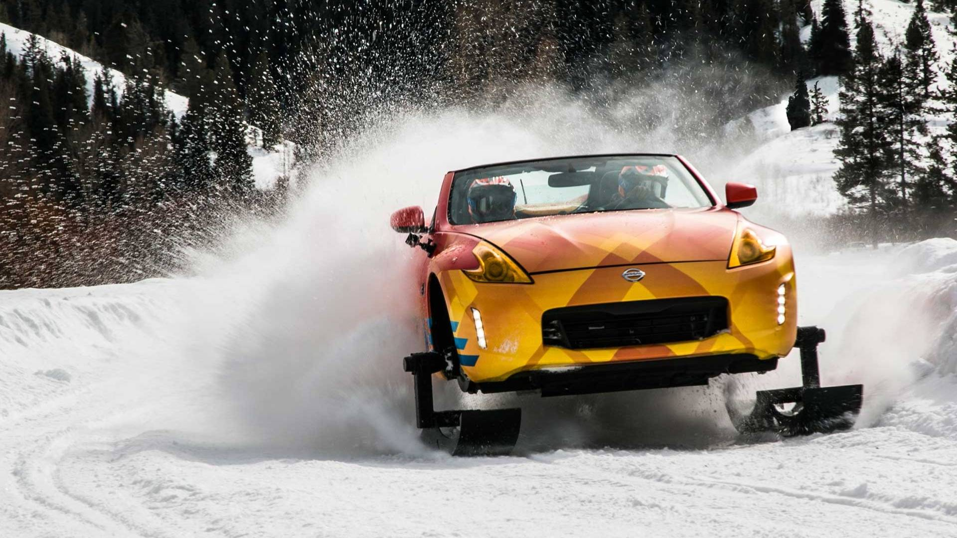 Photo of Το Nissan 370Zki έχει ερπύστριες και δεν μασάει στο χιόνι! [vid]