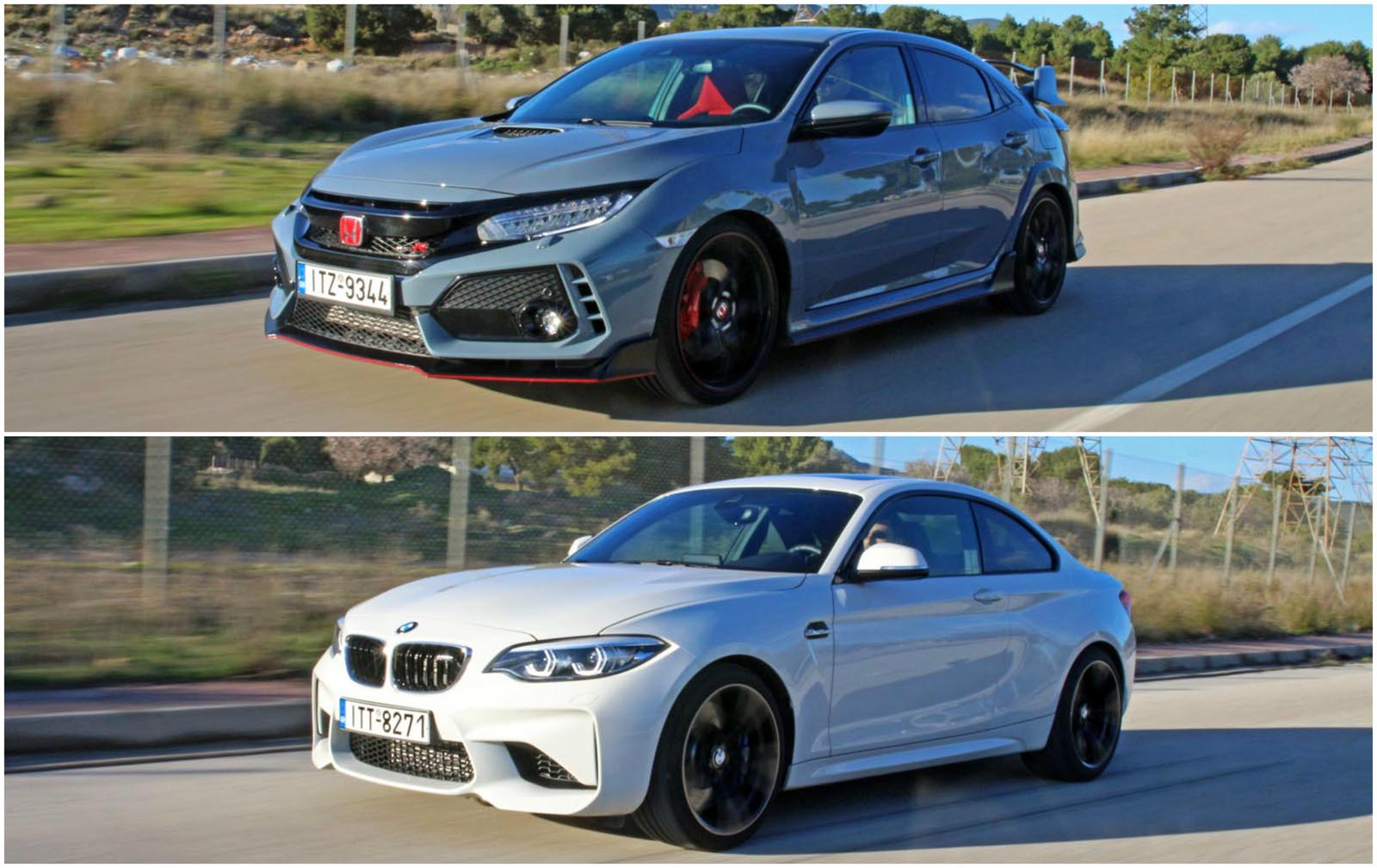 Photo of BMW M2 vs Honda Civic Type R [test drive]