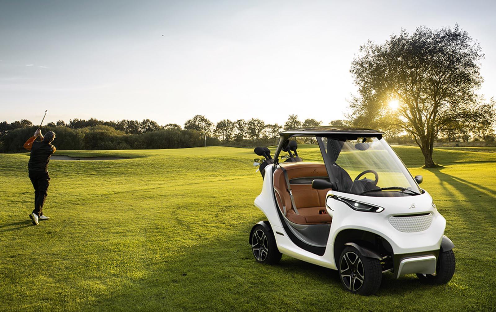 Photo of Ένα Mercedes για βόλτες σε resort και γκολφ