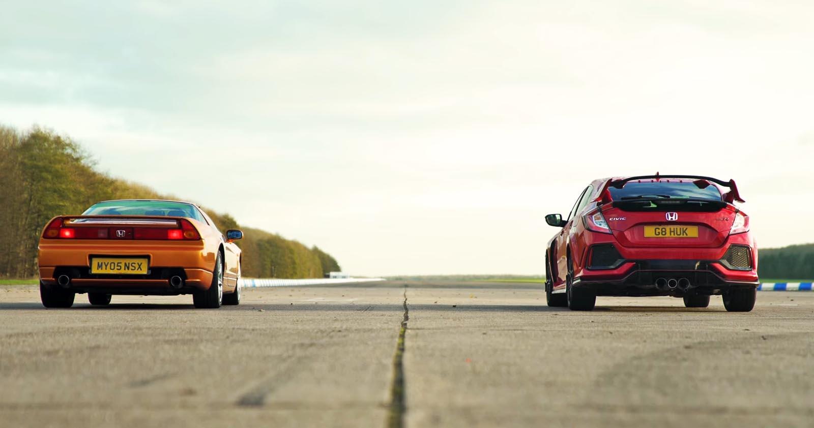 Photo of Honda NSX vs Civic Type R: Κόντρα από τα παλιά [vid]