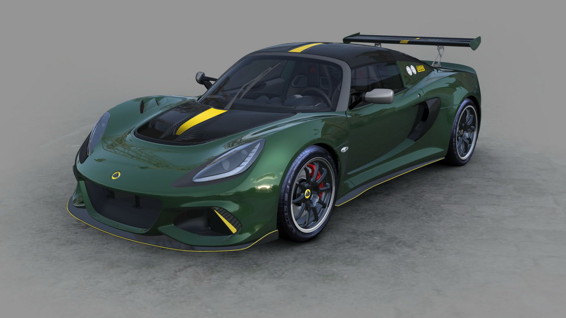 Photo of Lotus Exige Cup 430 Type 25 με ρετρό άρωμα