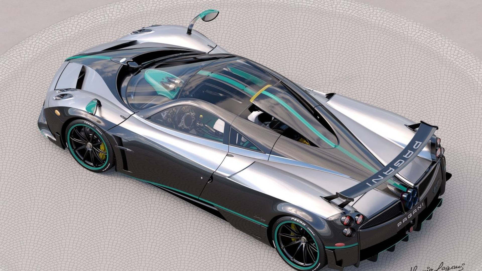 Photo of Στα χρώματα της Mercedes F1 η τελευταία Pagani Huayra Coupe