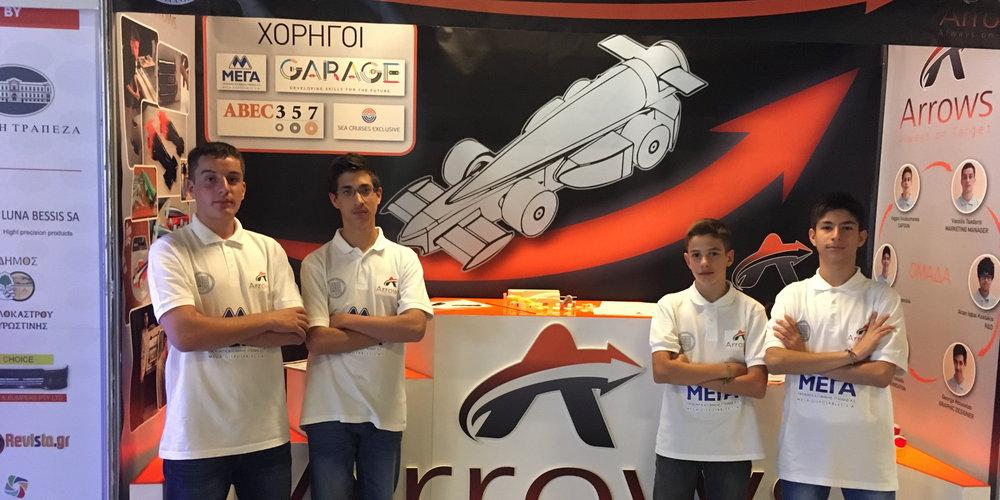 Photo of H Arrows στον Παγκόσμιο Τελικό «F1 in Schools» στη Σιγκαπούρη