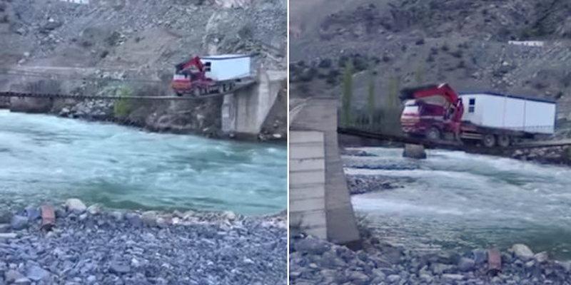 Photo of Απίστευτο! Ένα φορτηγό περνά από χάρτινη γέφυρα [vid]