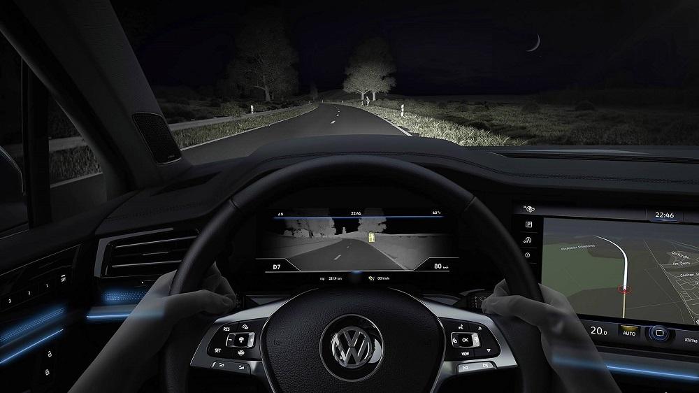 Photo of VW, θερμική κάμερα για το Touareg