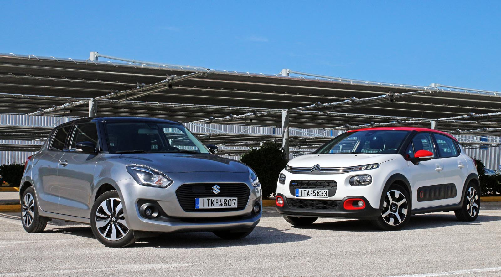 Photo of Citroen C3 1.2 110 PS vs Suzuki Swift 1.2 Hybrid [test drive]