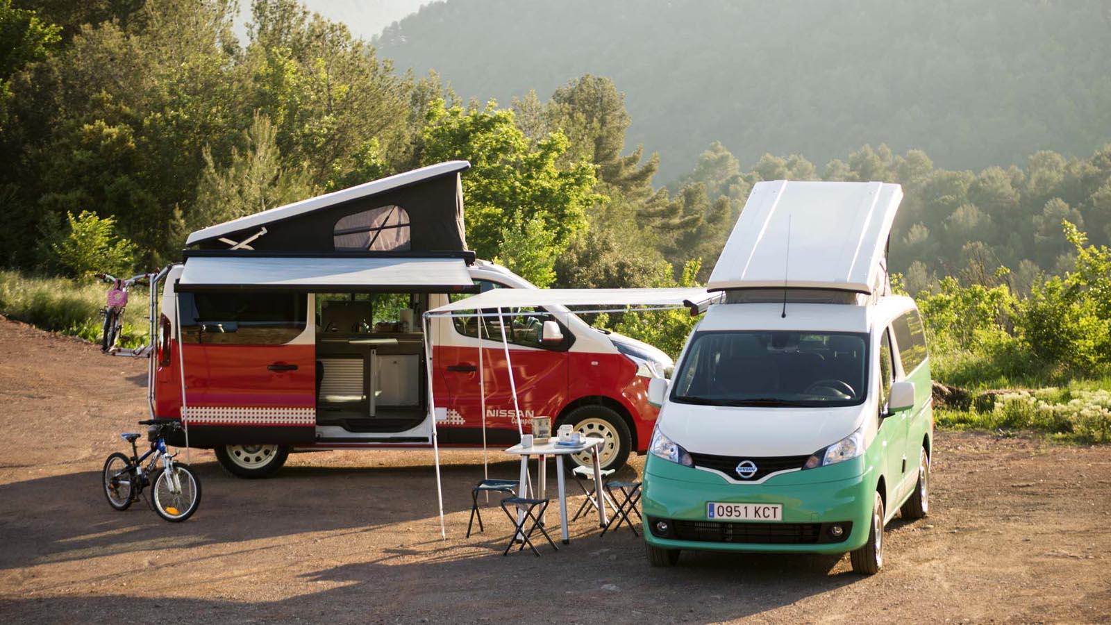 Photo of Καλοκαίρι στη Μαδρίτη με δύο Nissan Camper van