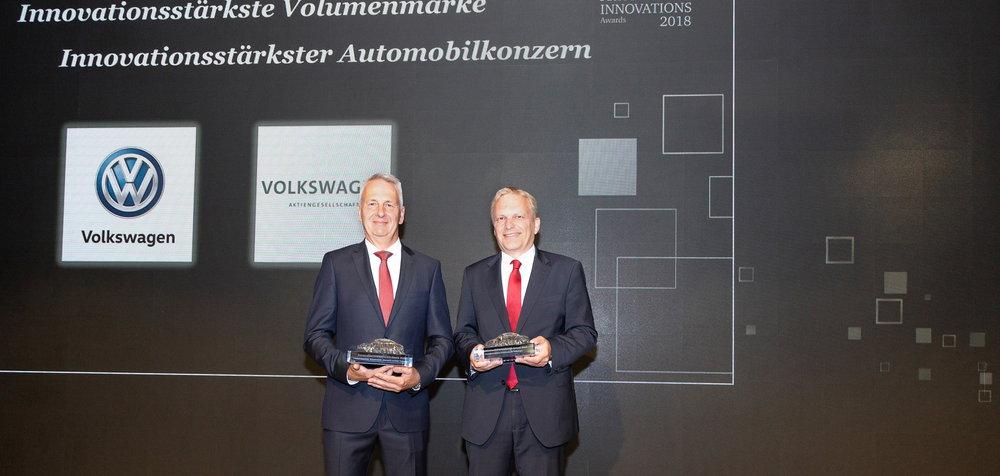 Photo of Βράβευση της VW ως ο πιο καινοτόμος μεγάλος κατασκευαστής
