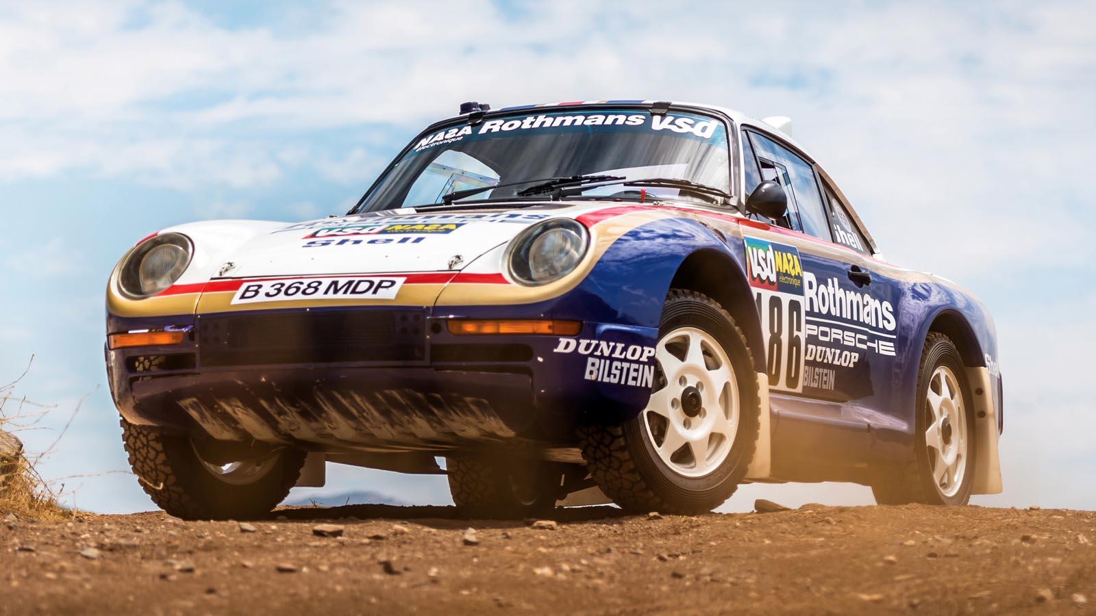 Photo of Δημοπρατείται μία Porsche 959 με συμμετοχή στο Paris-Dakar