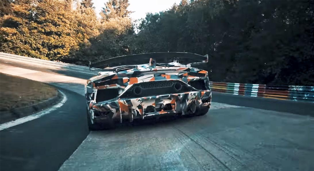 Photo of Ετοιμάζεται για νέο ρεκόρ η Lamborghini Aventador SVJ [vid]