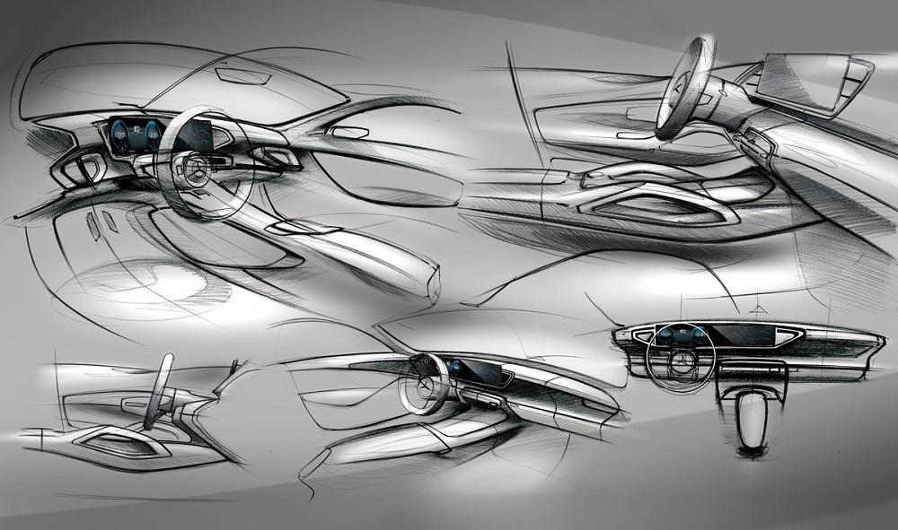 Photo of Σκίτσα από το εσωτερικό της νέας Mercedes GLE