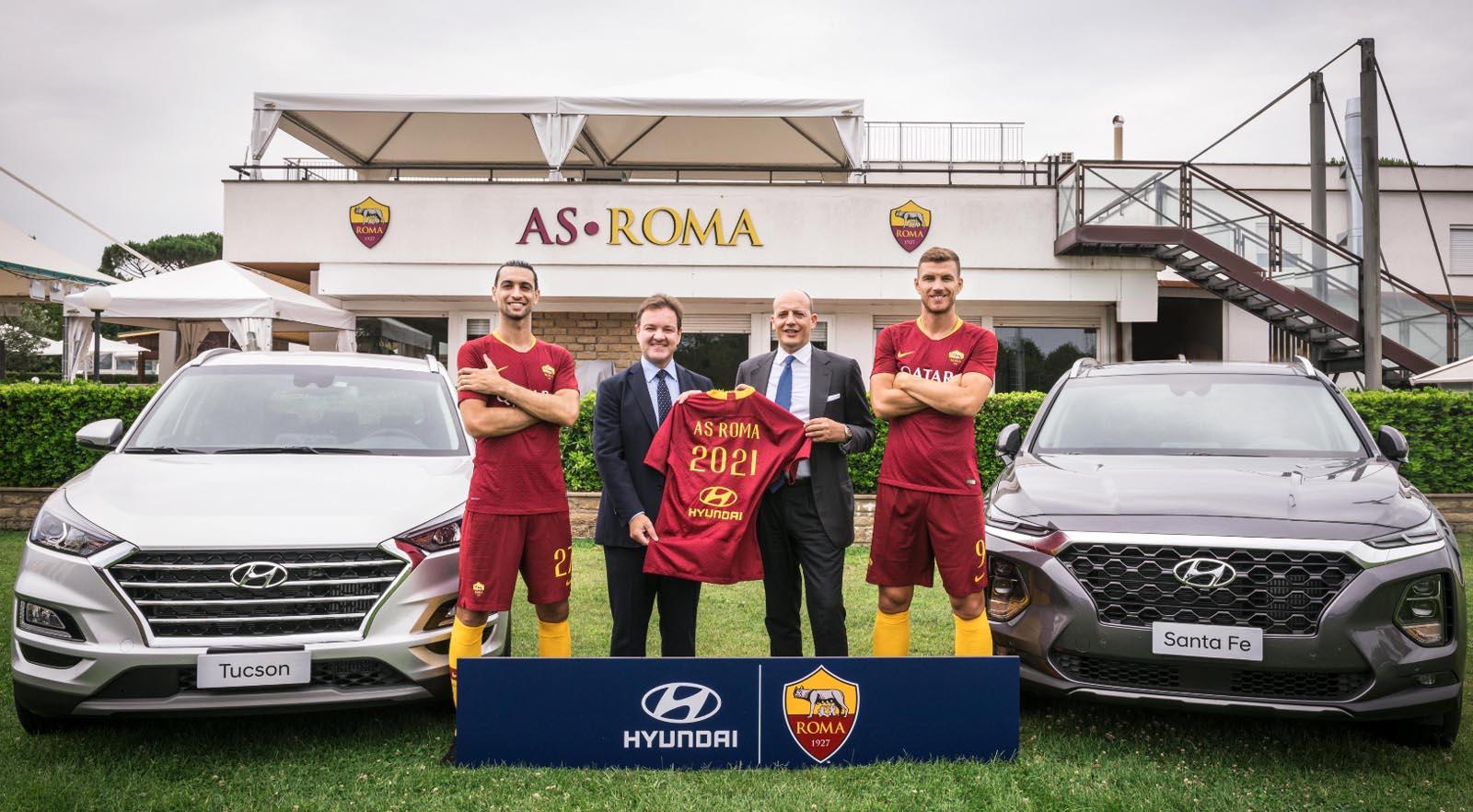 Photo of Η Hyundai χορηγικός συνεργάτης της AS Roma
