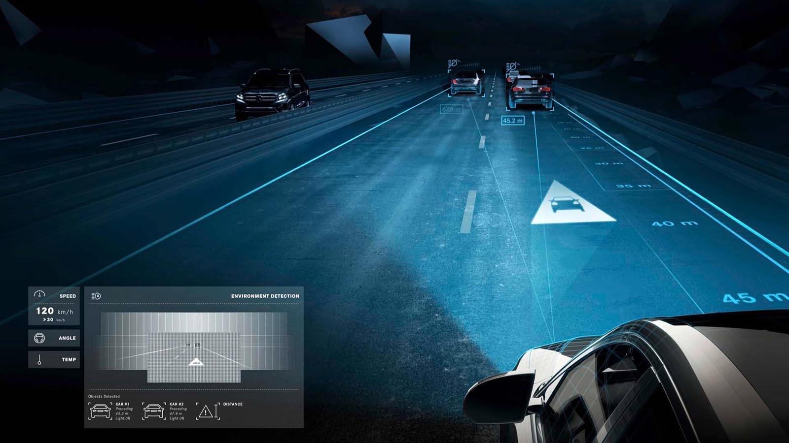 Photo of Τα έξυπνα φώτα της Mercedes μιλούν με τους πεζούς [vid]