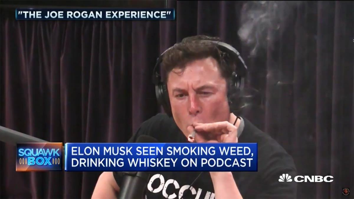 Photo of Δείτε τον Elon Musk να καπνίζει μαριχουάνα! [vid]