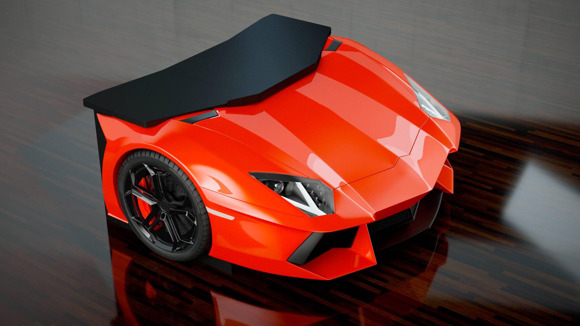 Photo of H Lamborghini και σε γραφείο!