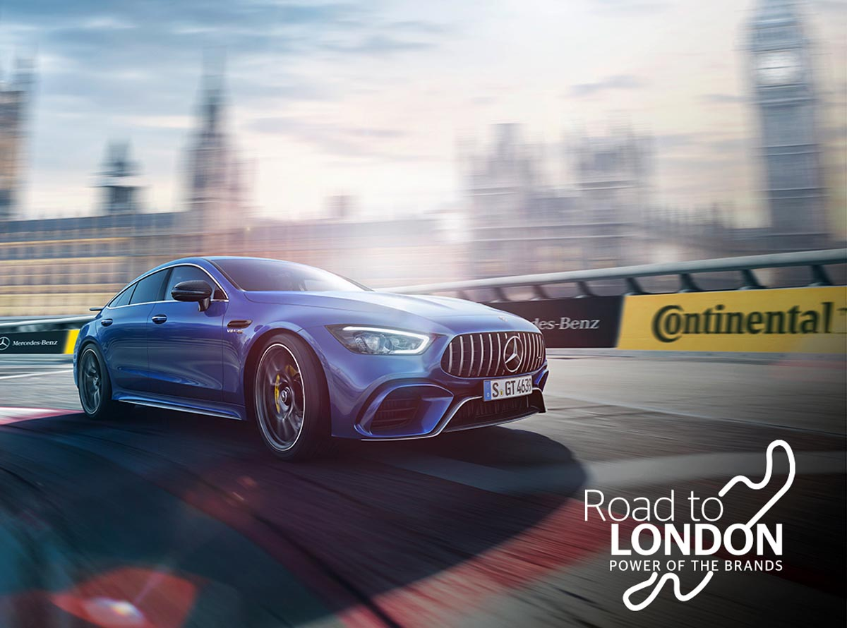 """Photo of Μεγάλος διαγωνισμός Continental – Mercedes  """"Road to London: The Power of brands"""""""