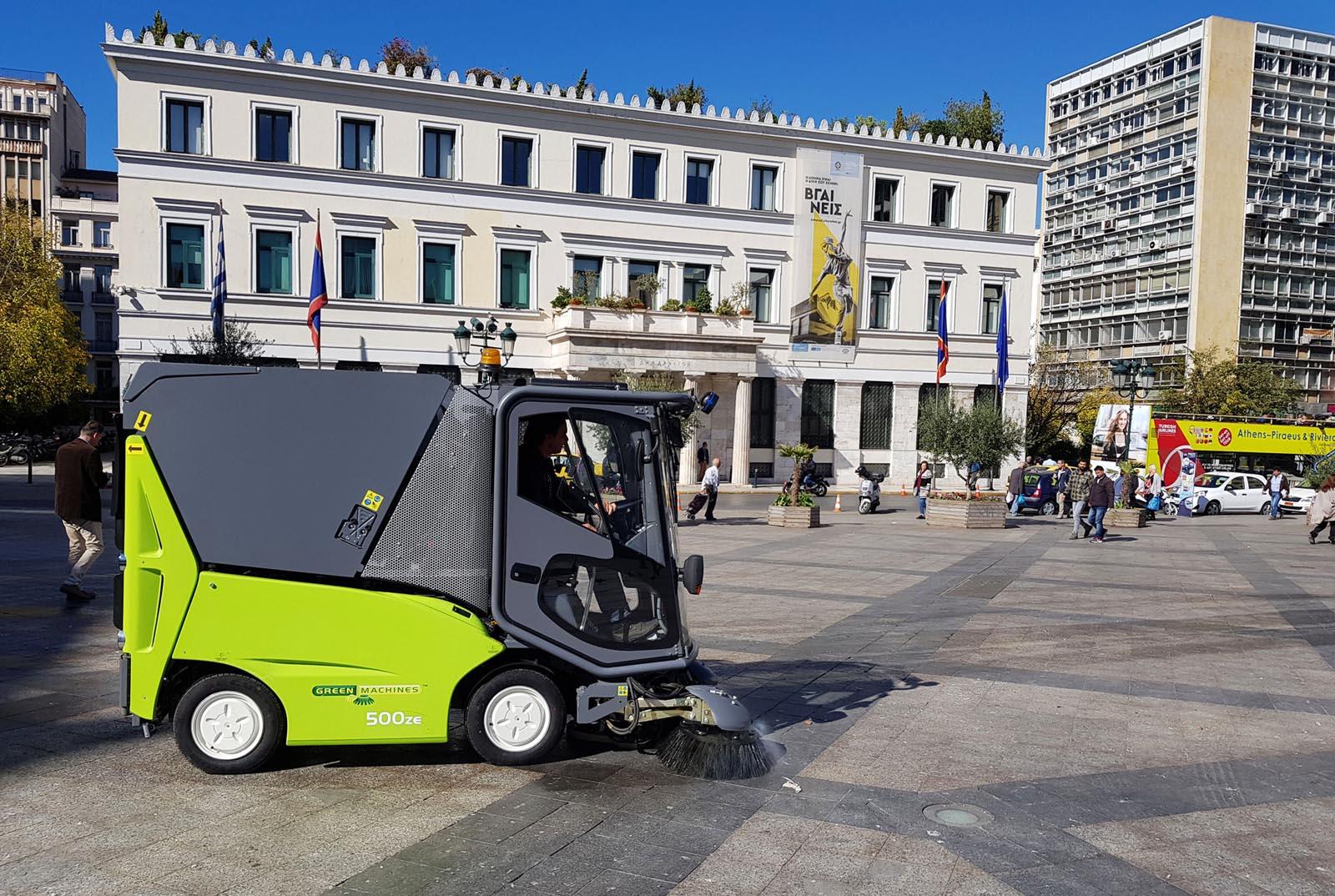Photo of Green Machines: Τα νέα ηλεκτροκίνητα σάρωθρα που διατηρούν την πόλη καθαρή [vid]