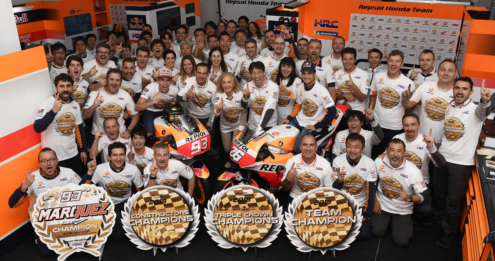 Photo of Η Honda  κατακτά το 2ο συνεχόμενο τίτλο MotoGP Triple Crown