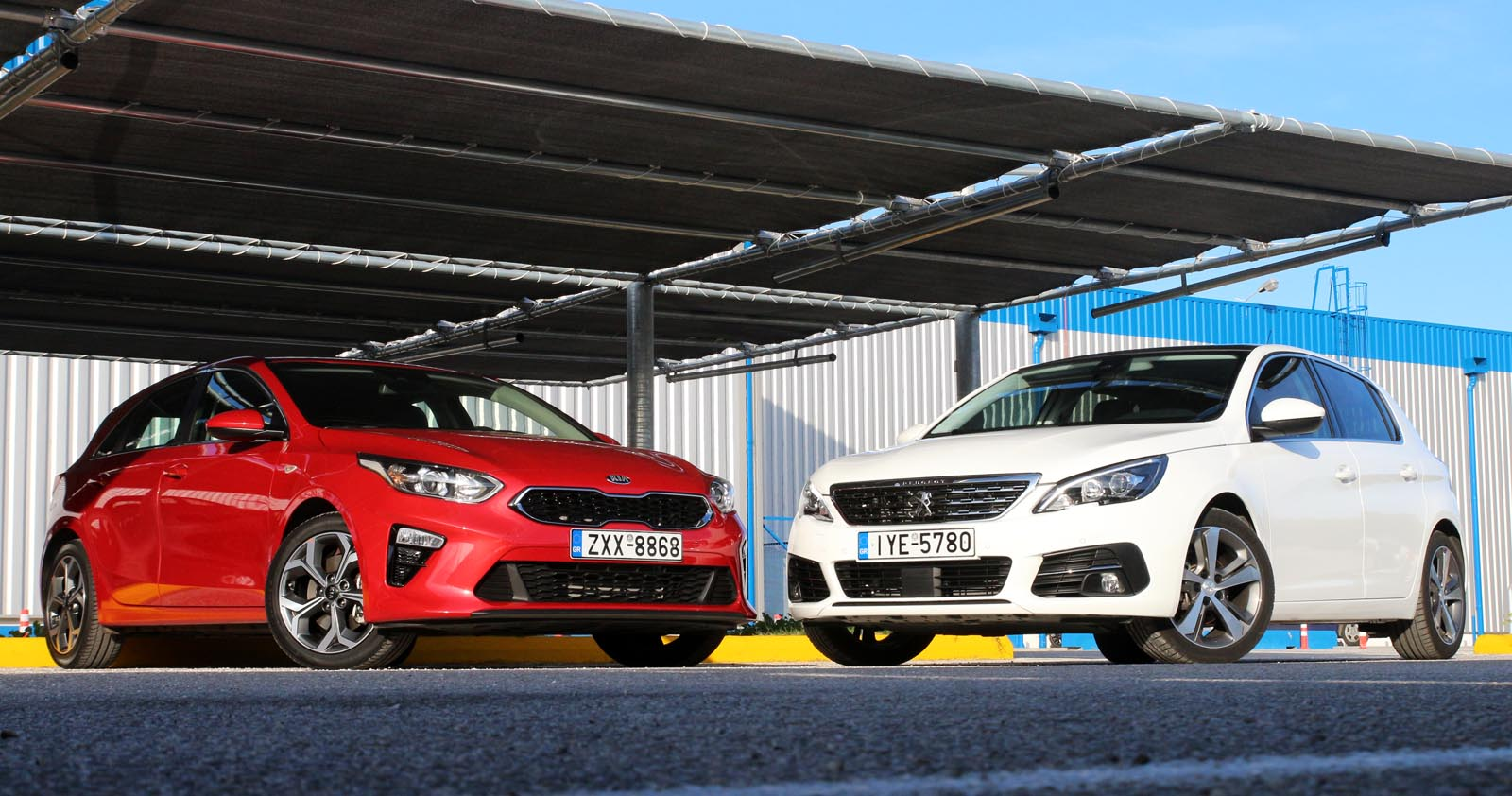 Photo of Kia Ceed 1.6 CRDi vs Peugeot 308 1.5 BlueHDI [test drive]