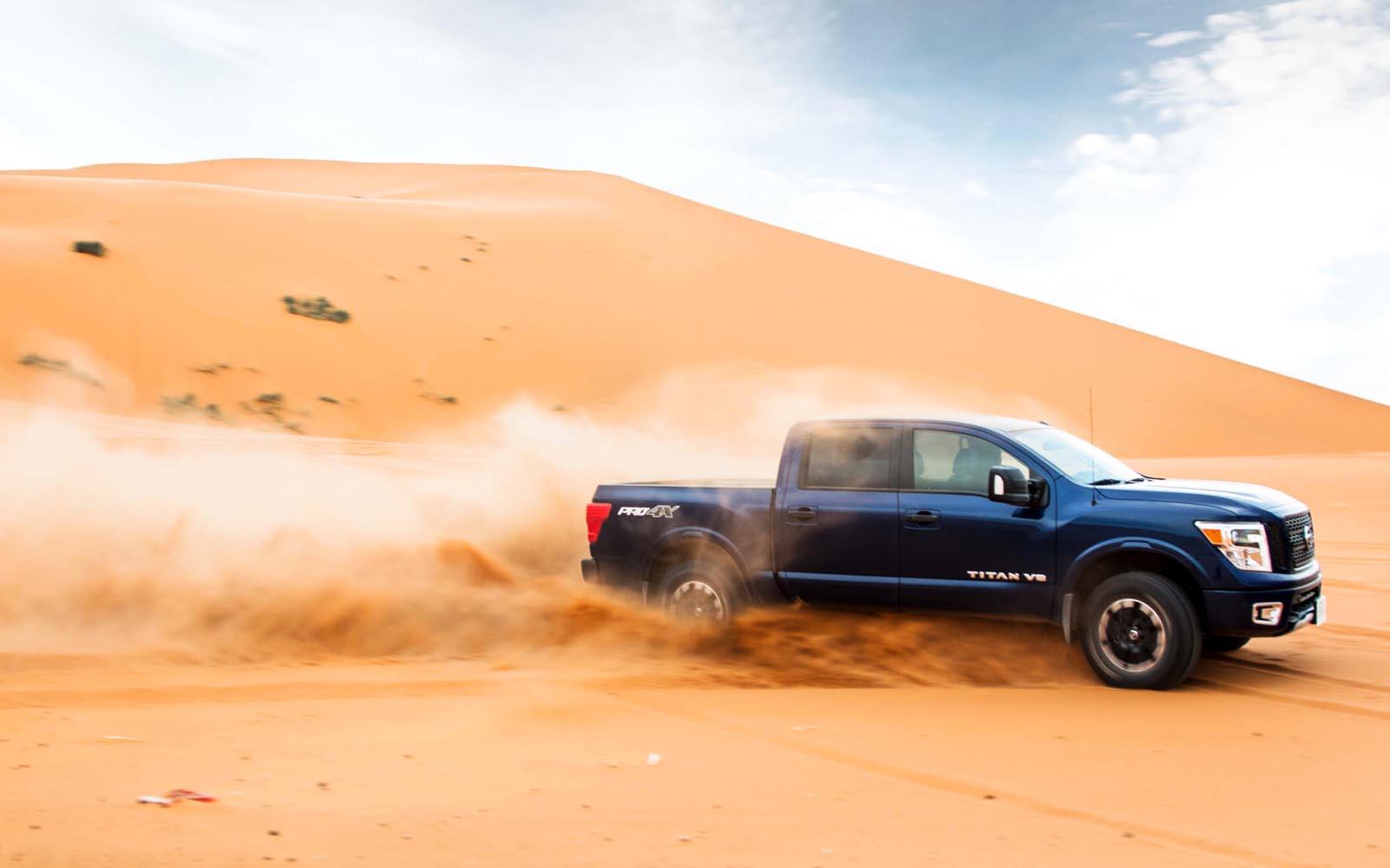 Photo of Τα Nissan Patrol,  Navara, TITAN & Terra τα βάζουν με την έρημο της Σαχάρας.