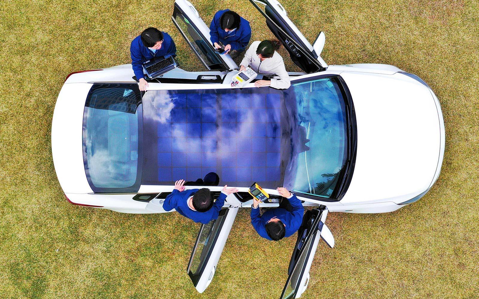 Photo of Hyundai & Kia με φωτοβολταϊκά πάνελ