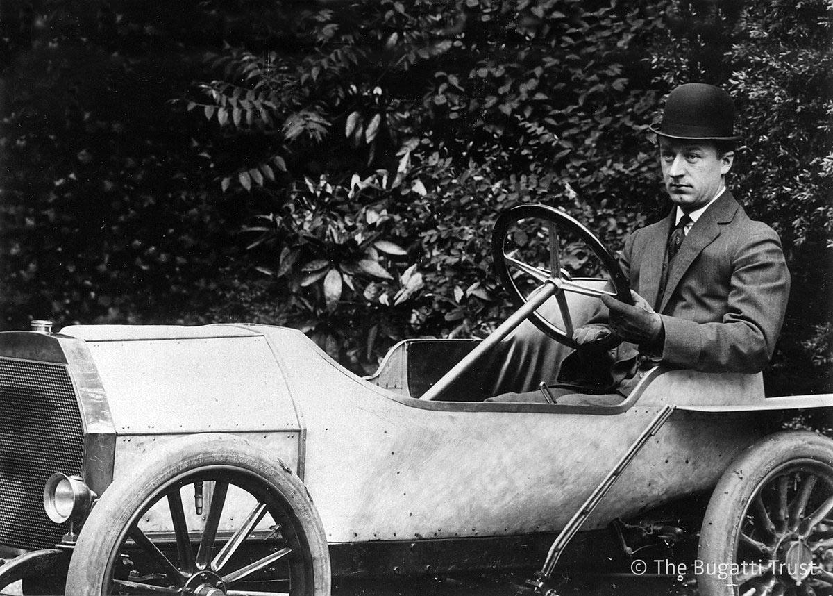 Photo of Η Bugatti Type 10 ήταν η πρώτη μιας εμβληματικής ιστορίας