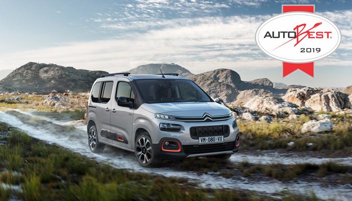 Photo of Το νέο Citroen Berlingo κατέκτησε το βραβείο Autobest 2019