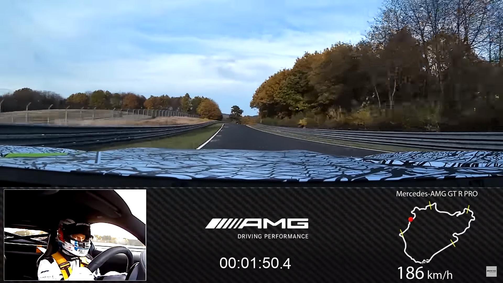 Photo of Σούπερ χρόνο η Mercedes-AMG GT R Pro στο Ring [vid]