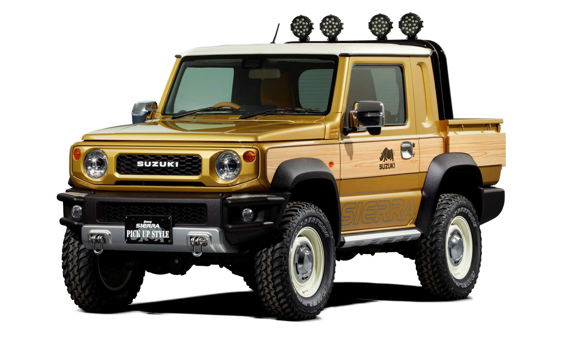 Photo of Και σε «αγροτικό» το νέο Suzuki Jimny