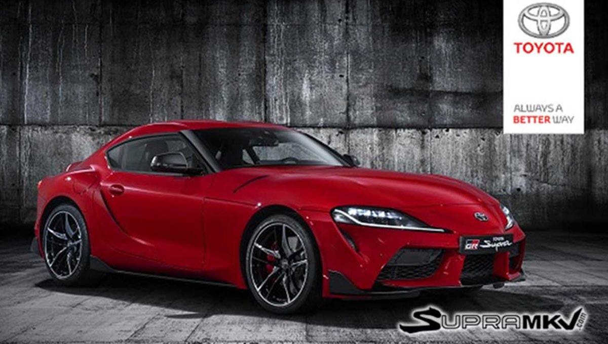 Photo of Νέες φωτογραφίες από τη νέα Toyota Supra!