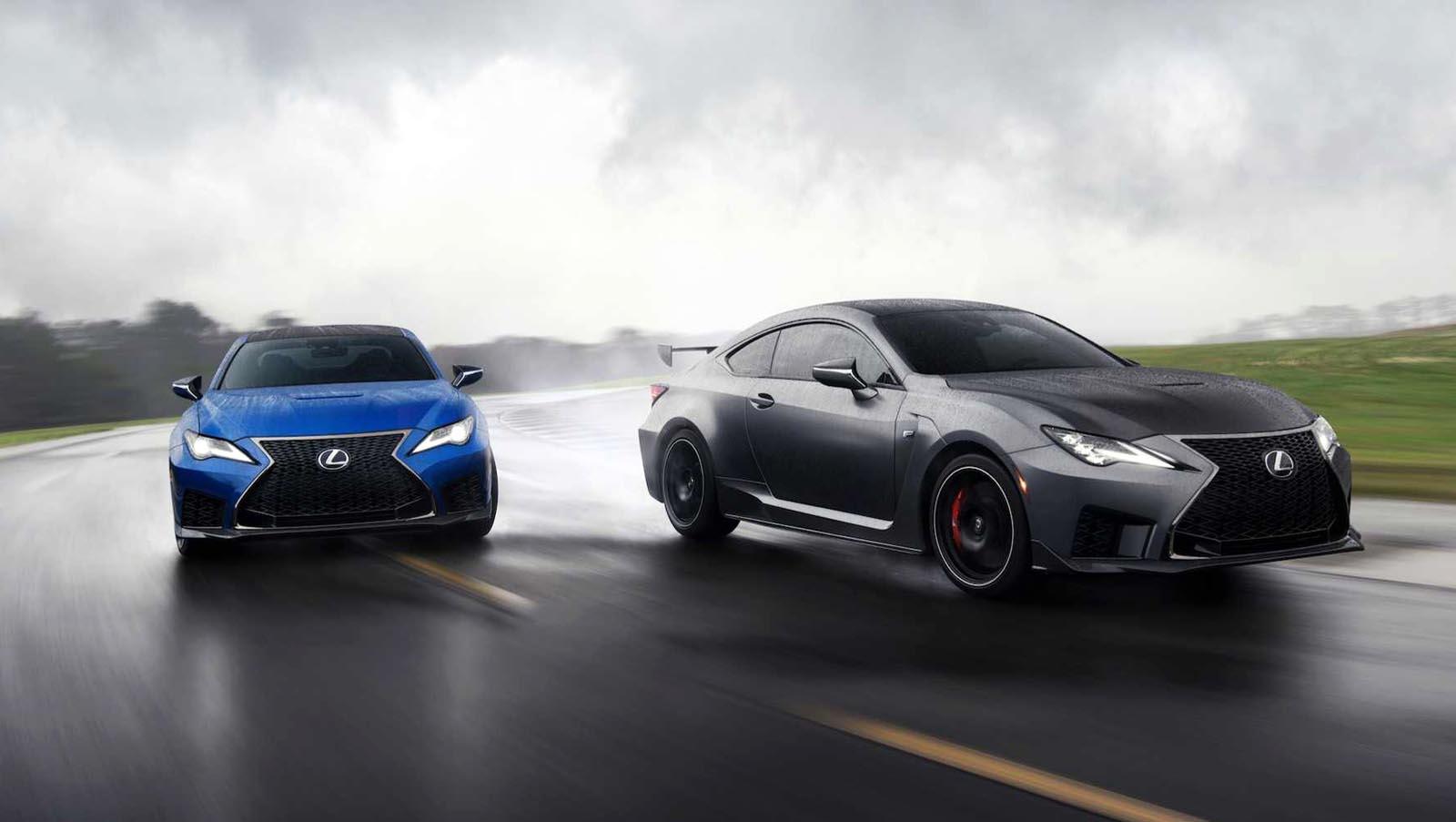 Photo of Ανανέωση για τα Lexus RC F & RC F Track Edition