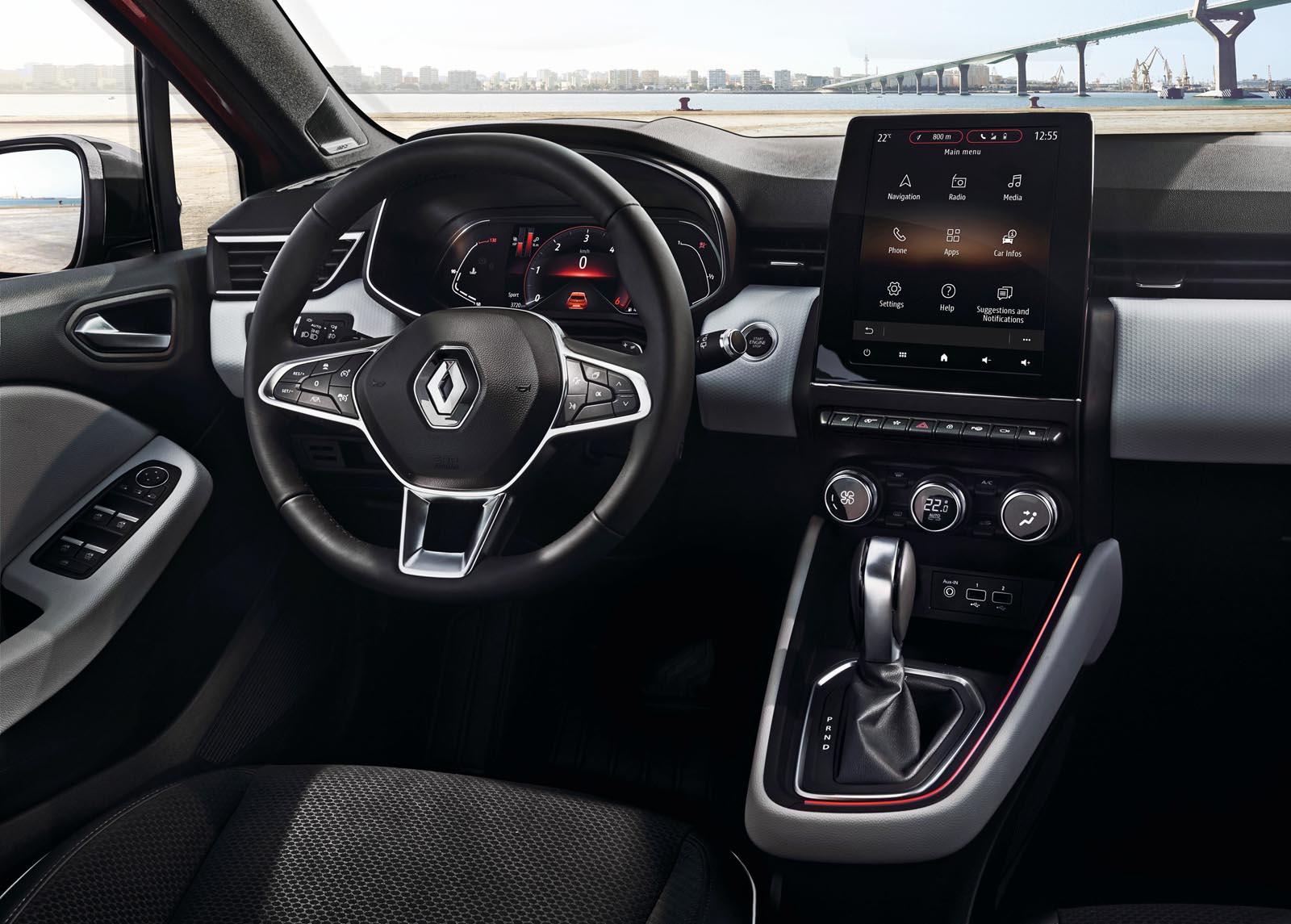 Photo of H Renault αποκαλύπτει το εσωτερικό του νέου Clio [vid]