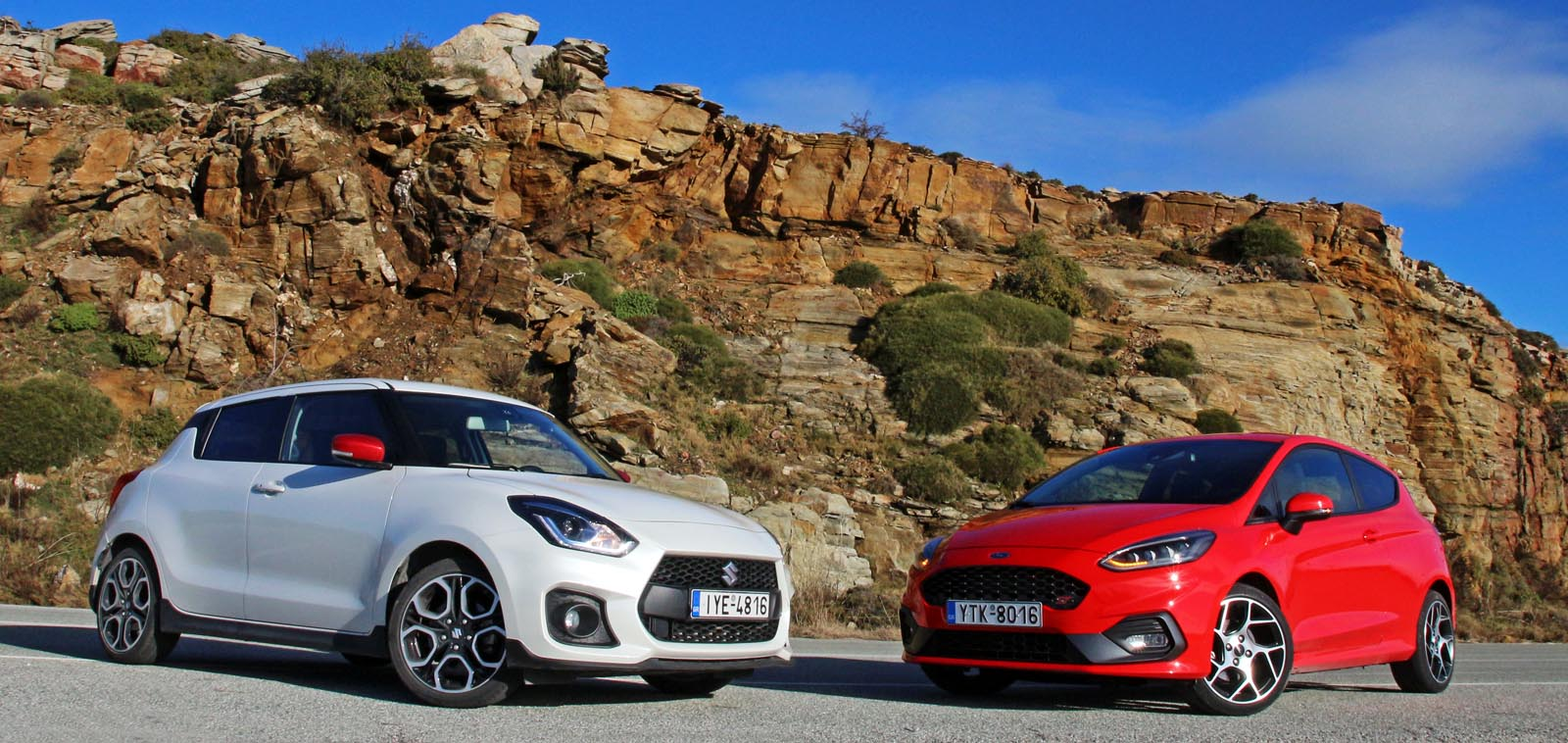 Photo of Ford Fiesta ST vs Suzuki Swift Sport [test drive]