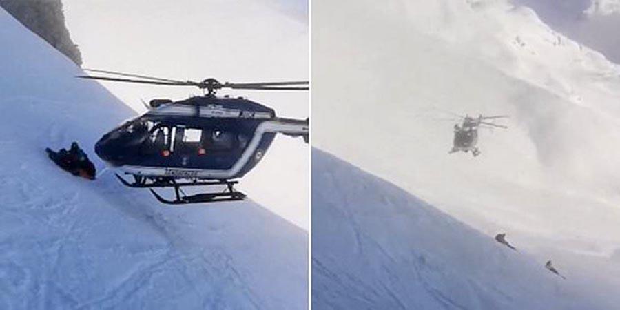 Photo of Απίστευτη διάσωση τραυματία σκιέρ στις Άλπεις από έναν απίστευτο πιλότο [vid]