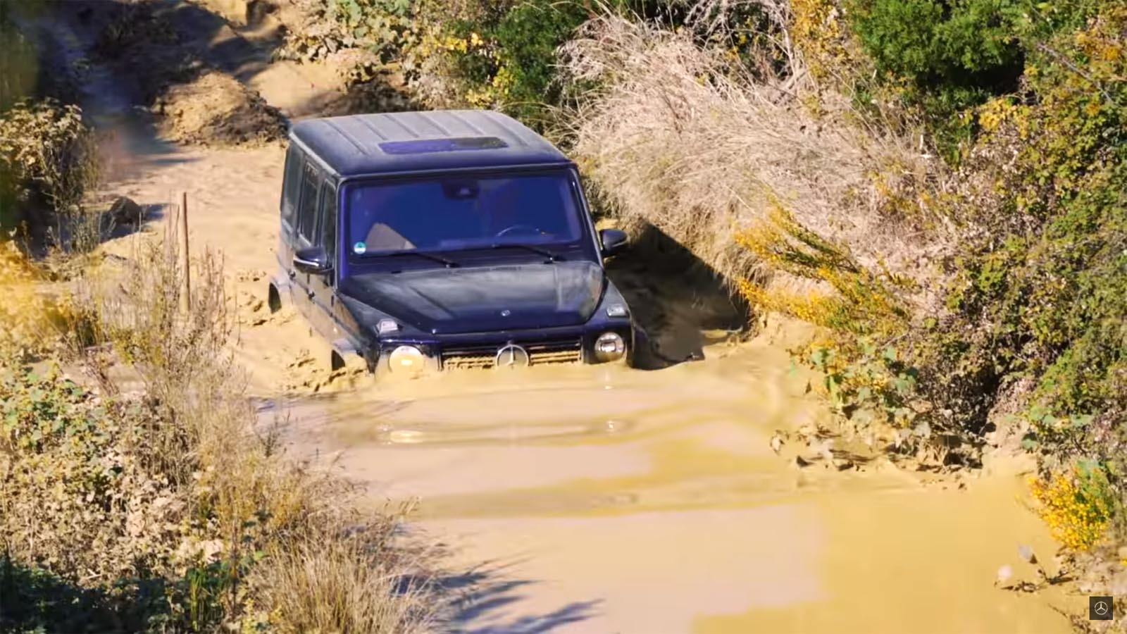 Photo of Off-road μαθήμα με τη νέα Mercedes G-Class [vid]