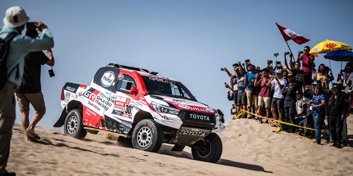 Photo of Ράλι Ντακάρ: Θρίαμβος για την Toyota και τους Nasser Al Attiyah & Mathieu Baumel