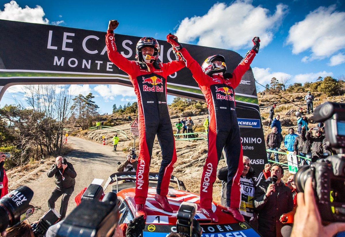 Photo of WRC – Ράλλυ Μόντε Κάρλο: O Ogier επικράτησε του Neuville!