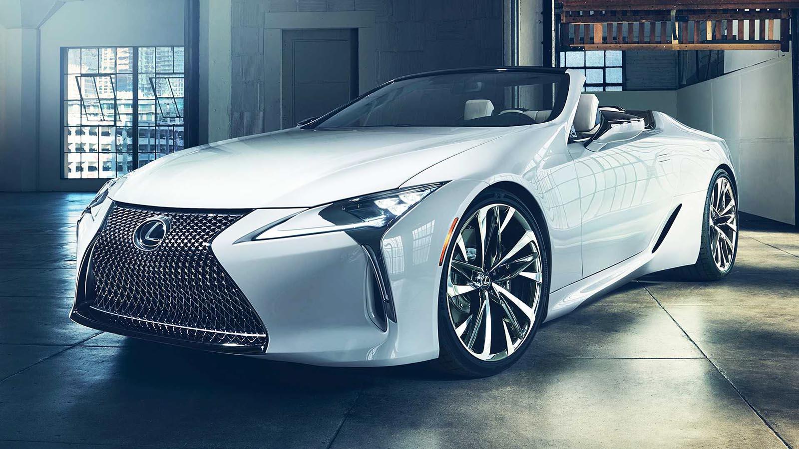 Photo of Εντυπωσιακό το Lexus LC Convertible [vid]