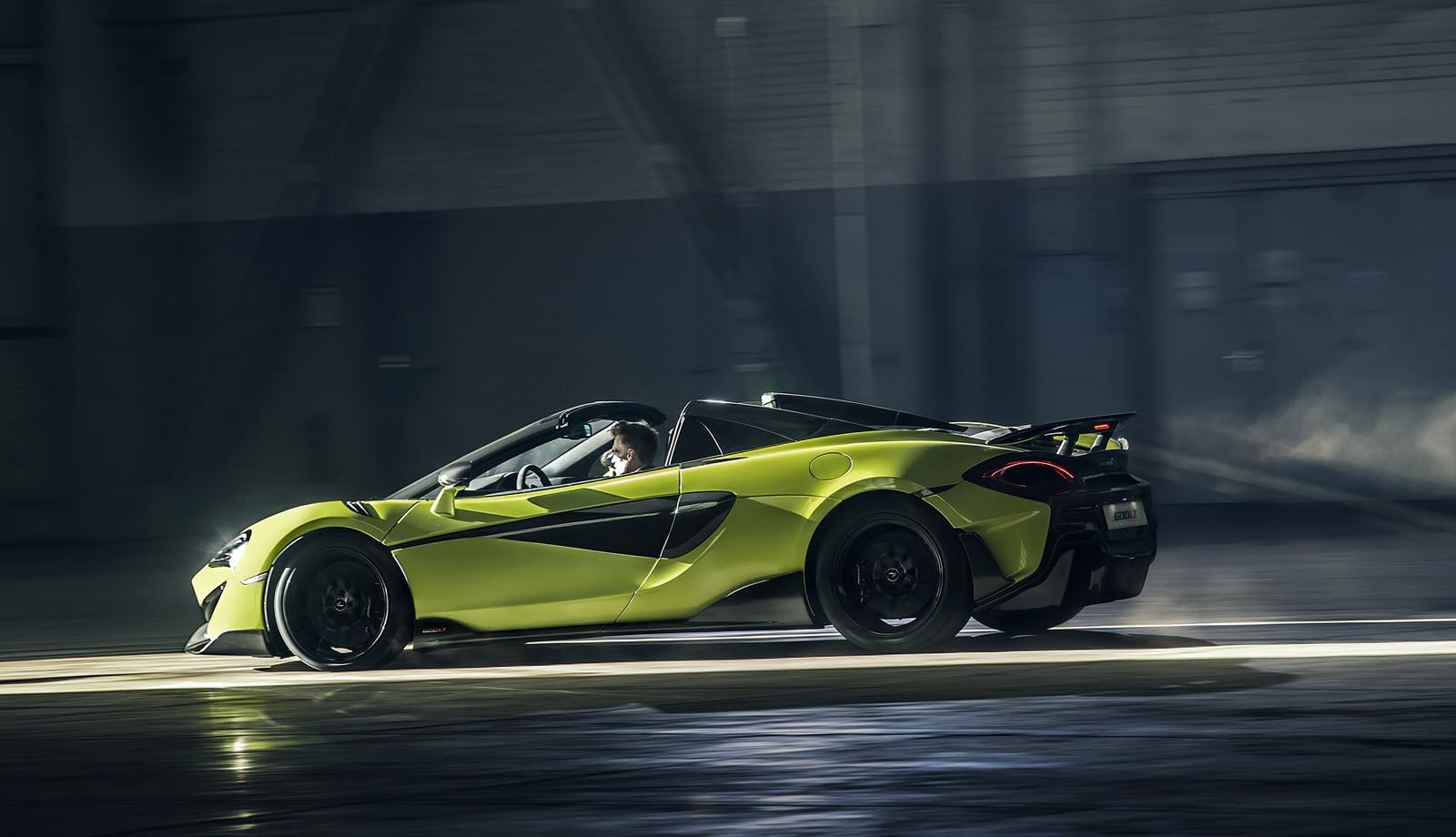Photo of Η McLaren παρουσίασε και την 600LT Spider [vid]